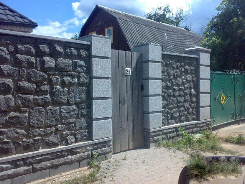 Забор из бута своими руками фото 53